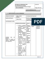 1. Analizar Legislación Colombiana SGRL