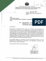 Carta Reglamento especifico de inversion publica