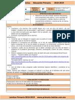 Septiembre - 5to Grado Artes (2018-2019)