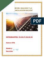 proyecto de cta energia fotovoltaica