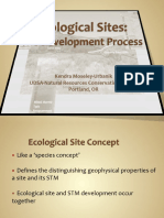 07 Ecological Sites the Development Process K.moseley