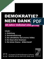 Eine Kampagne der Widerstandsbewegung in Senftenberg