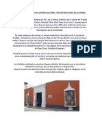 Informe de La Visita Al Centro Cultural Victor Raul Haya de La Torre
