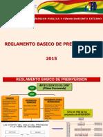 Presentacion-esquematica Reglamento Basico Preinversion 2015_v8_oct_15 Resumida