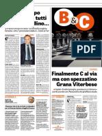La Gazzetta Dello Sport 13-09-2018 - Corsa a Ostacoli - Pag.1