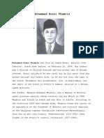 Biography M.H. Thamrin Bahasa Inggris