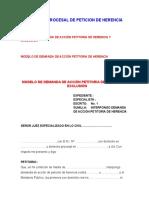 Practica Procesal de Peticion de Herencia