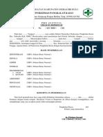 Format Surat Visum