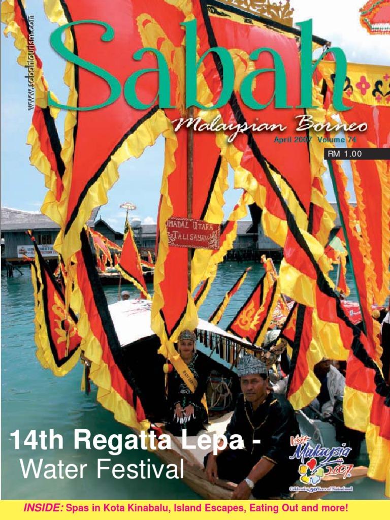 Sabah Malaysian Borneo Buletin April 2007 Indian Cuisine Shanghai Et Ticket 1 Day Disney Resort Untuk Anak Peak Season Restaurant And Catering