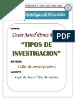 Tipos de Investigacion Taller (1)