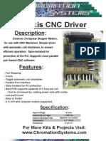 ChromationSystems CNC Driver Datasheet v1