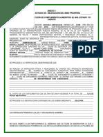 Anexo 8 Modelo de Acta de Baja