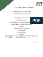 Cuadro Comparativo de Los Sistemas de Manufactura