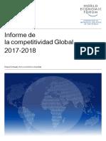 Global Competitiveness Report 2017-2018 (1) Español