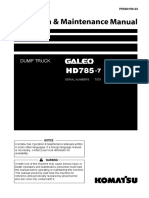HD785-7_OMM_(Operation Manual and Maintenance)