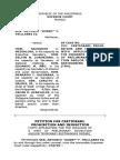 Trillanes Petition for Certiorari Supreme Court