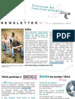 Newsletter TAOA n°1