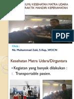 Aplikasi Ilmu Kesehatan Matra Udara