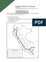 Sistemas Hidrográficos Del Perú y de Lambayeque