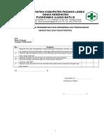 8.2.2.6 Daftar Tilik Pengawasan dan Pengendalian Penggunaan Narkotika Psikotropika - UB3ukp.doc