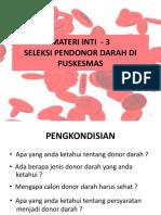 Mi 3 Seleksi Donor Darah