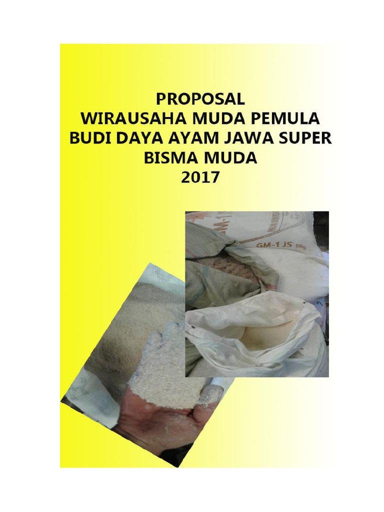 Contoh Proposal Wirausaha Muda Pemula 2017 Berbagi Contoh Proposal