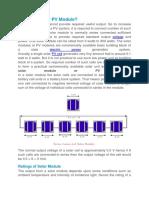 PV Module.docx