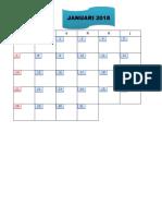 Copy of Kalender 2017