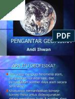 Pertemuan 1 (Pengantar Geofisika)