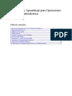 Objetivos de Aprendizaje para Operaciones de Planta Hidroeléctrica