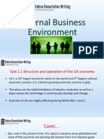 Presentation on External Business Environment in an Organization