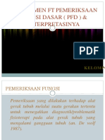 Fisioterapi pemeriksaan PFGD
