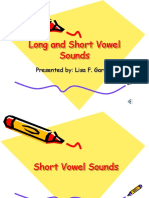 Long and Short Vowel Sounds.week 1. SESSION.4