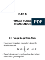 Purcell 6 Fungsi-fungsi Transenden