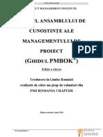 Ghidul PMBOK Editia 5 RO-04