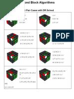 Second Block Algorithms