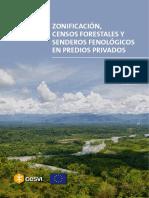 CESVI - Zonificacion Censos Senderos
