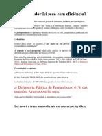 COMO ESTUDAR LEI SECA COM EFICIÊNCIA.docx