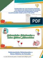 Enfermedades y Habitos Alimenticios