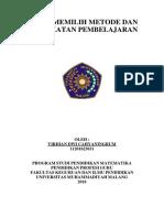 Virdian Dwi C - LK - 5 Metode dan Kegiatan Pembelajaran WS 2 PPG MAT UMM.docx