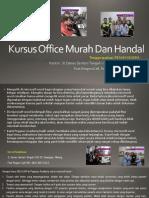 Microsoft Word, Jl. Danau Sentani Tengah H2B 39, Sawojajar, Malang.  Fast Respon Call/ WA
