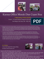 Microsoft Word 97, Jl. Danau Sentani Tengah H2B 39, Sawojajar, Malang.  Fast Respon Call/ WA