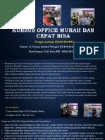 Microsoft Word for Pc, Jl. Danau Sentani Tengah H2B 39, Sawojajar, Malang.  Fast Respon Call/ WA