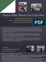 Microsoft Word 2007 Free, Jl. Danau Sentani Tengah H2B 39, Sawojajar, Malang.  Fast Respon Call/ WA