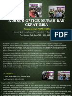 Microsoft Word 2003, Jl. Danau Sentani Tengah H2B 39, Sawojajar, Malang.  Fast Respon Call/ WA