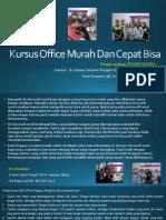 Microsoft Excel, Jl. Danau Sentani Tengah H2B 39, Sawojajar, Malang.  Fast Respon Call/ WA