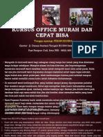 Materi Tentang Microsoft Word, Jl. Danau Sentani Tengah H2B 39, Sawojajar, Malang.  Fast Respon Call/ WA