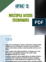 Wireless Communication Multiple Access technique