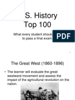 American History II Exam Review Top 100 AH 2.ppt