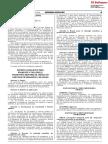 Decreto Legislativo para promover y facilitar el transporte marítimo en tráfico de cabotaje de pasajeros y de carga